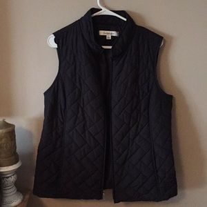 CROFT & BARROW QUILTED VEST